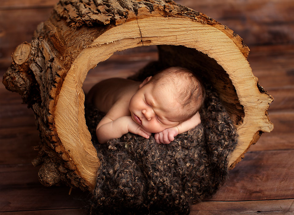 Rustic Newborn Photography Props