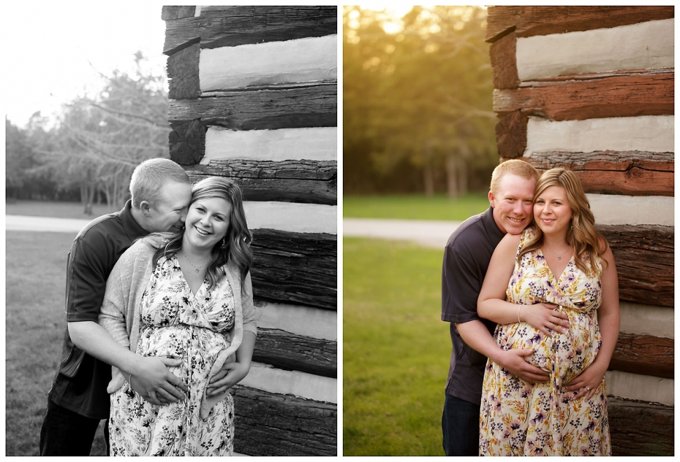 Expecting parents pregnancy shoot, maternity photography, Sutton Ontario, Sibbald