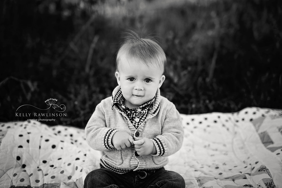 Black and white b&w child portrait